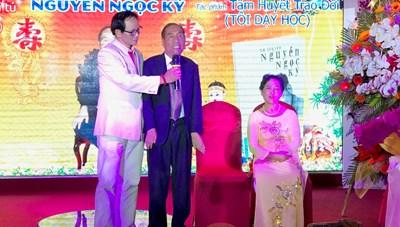 Tự truyện 'Tâm huyết trao đời' của nhà giáo Nguyễn Ngọc Ký ra mắt độc giả phía Nam