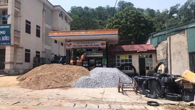 Thanh Hóa: Cửa hàng xăng dầu gây ô nhiễm môi trường