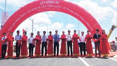 Thông xe 6 cây cầu trên địa bàn tỉnh Long An