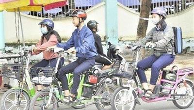 Phải có giấy phép lái xe mới được điều khiển xe đạp điện