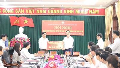 Phú Thọ: Gần 4 tỷ đồng ủng hộ Quỹ Vì người nghèo