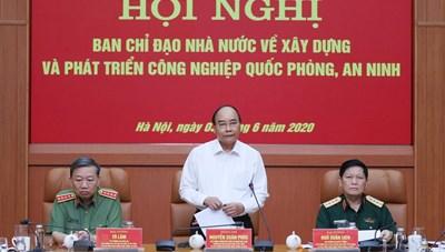 Thủ tướng: Phát triển công nghiệp quốc phòng, an ninh là nhiệm vụ cấp bách