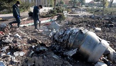 Iran sẽ chuyển hộp đen của máy bay Ukraine bị bắn nhầm tới Paris