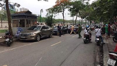 Nữ tài xế Mercedes gây tai nạn liên hoàn tại Cầu Giấy là ai?