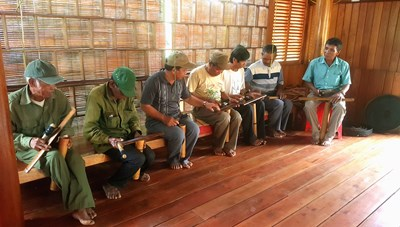 Người đam mê gìn giữ văn hóa truyền thống