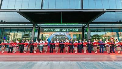 VietinBank - nhân tố tích cực thúc đẩy quan hệ hợp tác Việt Nam - Lào