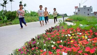 Hưng Yên: Tăng tốc về đích nông thôn mới