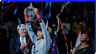 Tay vợt người Nhật Naomi Osaka phá vỡ kỷ lục về thu nhập hàng năm