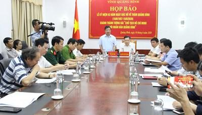 Lễ khánh thành 'Tượng đài Chủ tịch Hồ Chí Minh với Nhân dân Quảng Bình' sẽ diễn ra vào tối 13/6