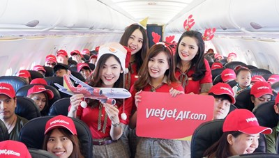 Vietjet là hãng hàng không đầu tiên khai thác trở lại tại sân bay Phuket (Thái Lan) từ ngày 13/6/2020