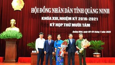 Quảng Ninh có thêm một nữ Phó Chủ tịch UBND tỉnh