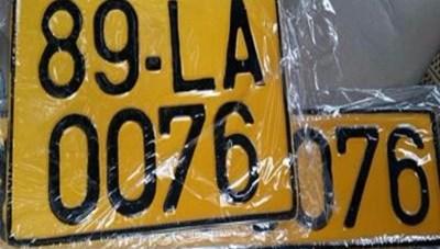 Đổi màu biển xe kinh doanh: Mang lại sự an toàn cho khách hàng