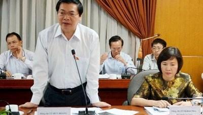Bộ Công an xác nhận đã khởi tố cựu Bộ trưởng Vũ Huy Hoàng