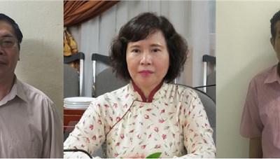 Cựu Thứ trưởng Hồ Thị Kim Thoa cùng bị khởi tố với ông Vũ Huy Hoàng