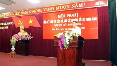 5 năm, Nam Định kỷ luật 2.218 đảng viên