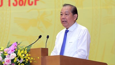 Phó Thủ tướng Thường trực: Có cán bộ tiếp tay cho tội phạm