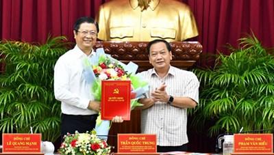 Ông Trương Quang Hoài Nam làm Phó Trưởng ban Đối ngoại Trung ương