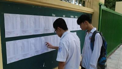 Trường THPT Phan Huy Chú công bố điểm chuẩn vào lớp 10