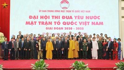 Thủ tướng Nguyễn Xuân Phúc: MTTQ Việt Nam tiếp tục khơi dậy sức mạnh đại đoàn kết toàn dân tộc