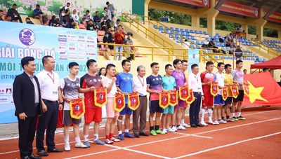 Khai mạc Giải bóng đá Kinh tế Môi trường lần I-2020