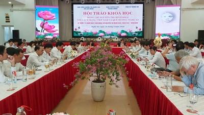 Hội thảo khoa học nhân kỷ niệm 110 năm Ngày sinh Nguyễn Thị Minh Khai