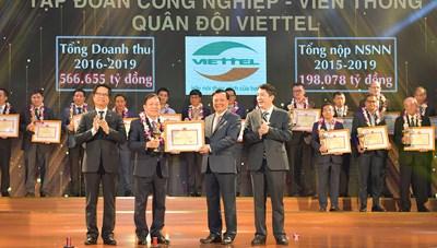 Viettel là một trong những DN nộp thuế lớn nhất trong 30 năm qua