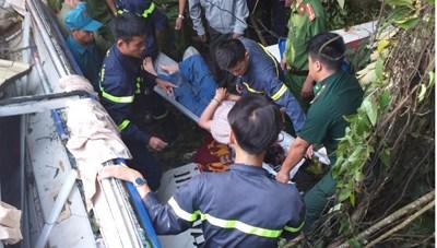 Bộ Công an chỉ đạo khắc phục hậu quả vụ tai nạn thảm khốc ở Kon Tum