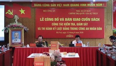 Bộ Công an công bố cuốn sách về kiểm tra, kỷ luật Đảng trong CAND