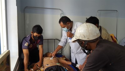 Đắk Lắk: Ba người bị sét đánh thương vong khi đang gặt lúa