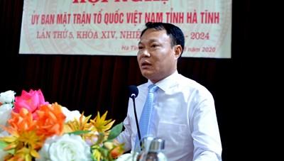 MTTQ tỉnh Hà Tĩnh có tân Phó Chủ tịch
