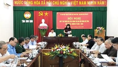 Bình Định: Góp ý Dự thảo Báo cáo chính trị Đại hội Đảng bộ tỉnh