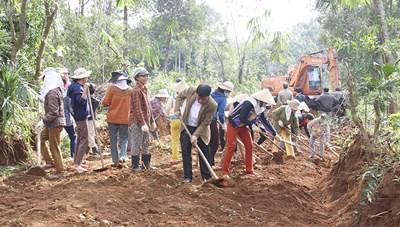 Xây dựng nông thôn mới, nhìn từ Cam Lộ