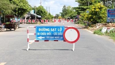 An Giang: Chi khẩn 165 tỷ đồng khắc phục sạt lở Quốc lộ 91