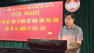 Thái Bình: Hơn 26 tỷ đồng tiền mặt, hiện vật ủng hộ phòng chống dịch Covid-19