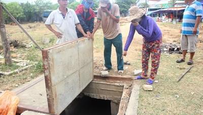 Nổ thùng phuy hóa chất gây ô nhiễm, dân bức xúc