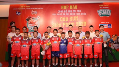 Giải bóng đá Nhi đồng toàn quốc Cúp Kun siêu phàm 2020