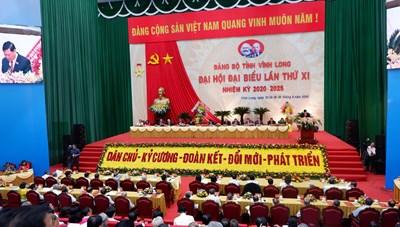 Quyết tâm đưa tỉnh Vĩnh Long phát triển nhanh và bền vững
