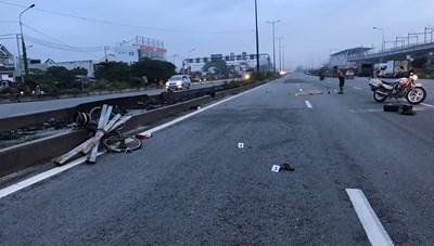 TPHCM: Tai nạn giao thông trong hầm chui khiến một người tử vong