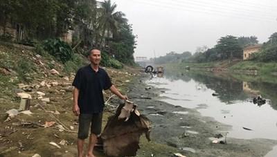 Cần 300 triệu USD để 'cứu' môi trường lưu vực sông Nhuệ-sông Đáy