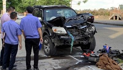 Nam Định: Hai người chết vì TNGT không phải vợ chồng như thông tin ban đầu