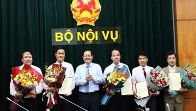 Bộ Nội vụ điều động, bổ nhiệm nhiều nhân sự mới