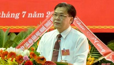 Ông Trần Nam Phong giữ cương vị Chủ tịch Hội Liên hiệp Văn học Nghệ thuật Hà Tĩnh