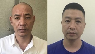 Dũng 'trọc' Hà Đông và 4 đồng phạm bị khởi tố