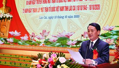 Đoàn kết xây dựng Lào Cai ngày càng giàu đẹp