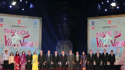 Khai mạc tuần hàng 'Made in Vietnam - Tinh hoa Việt Nam'