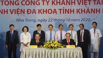 BV đa khoa Khánh Hòa tiếp nhận Hệ thống chụp mạch máu số hóa xóa nền