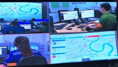 TP HCM nâng cấp Tổng đài khẩn cấp xác định chính xác vị trí người gọi
