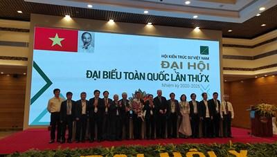 Ông Phan Đăng Sơn được bầu làm Chủ tịch Hội Kiến Trúc sư Việt Nam