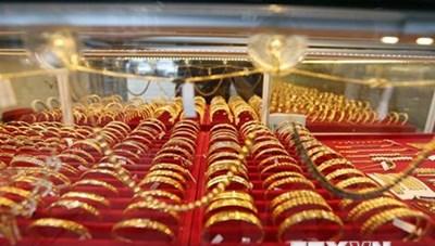 Giá vàng châu Á giảm do đồng USD mạnh lên phiên chiều 2/9