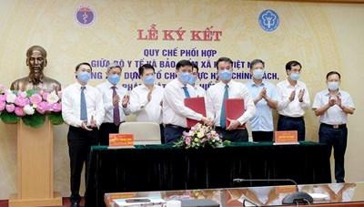 Bộ Y tế và BHXH Việt Nam ký kết phối hợp thực hiện chính sách, pháp luật BHYT
